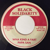 PAPA SAN / WHA KIND A FART - TIPPA IRIE / LONG TIME FRIEND