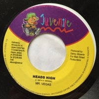 MR. VEGAS / HEADS HIGH - H. BROWNE / FILTHY