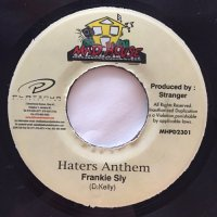 FRANKIE SLY / HATERS ANTHEM