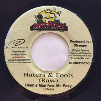 BEENIE MAN, MR. EASY / HATERS & FOOLS