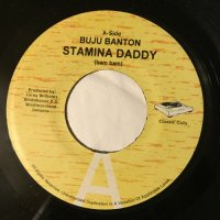 BUJU BANTON / STAMINA DADDY - SNOW / RUN AWAY