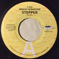 APACHY SCRATCHIE / STEPPER - BORN JAMERICANS / YARDCORE