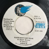 ANTHONY B / FLESH DON'T GET WEAK - DETERMINE / FULL A HYPE