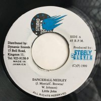 LITTLE JOHN / DANCEHALL MEDLEY - HAWKEYE / WE NAH GO FRAID
