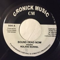 ROLAND BURREL / SOUND DEAD NOW