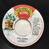 ANTHONY B / GIVE THANKS