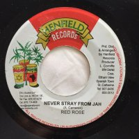 ANTHONY RED ROSE / NEVER STRAY FROM JAH