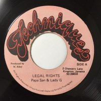PAPA SAN, LADY G / LEGAL RIGHTS