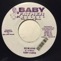 TONY CURTIS / SO IN LOVE - CHRISTOPHER / GOTS TOBE
