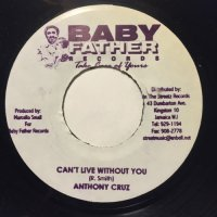 ANTHONY CRUZ / CAN'T LIVE WITHOUT YOU - TANYA STEPHENS / CHATTERLIST
