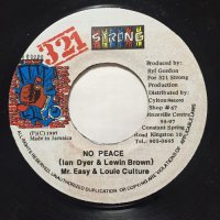 Mr. EASY, LOUIE CULTURE / NO PEACE
