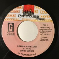 SUGAR MINOTT / RETURN YOUR LOVE