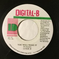 LUKIE D / YOU WILL MAKE IT