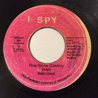 MAJOR LLOYD / RINE STONE COWBOY