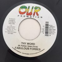 FABULOUS FORBES / THY WORD