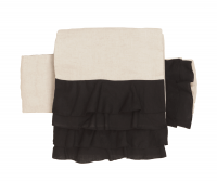 SAK-OKF171101 フリルリバーシブル京袋帯(バイカラー)