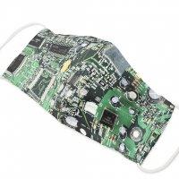 TM081503 お仕立て上りマスク 基板柄 即納品