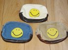 """【TOYS McCOY】 CANVAS KIT POUCH SMALL """"SMILE"""""""