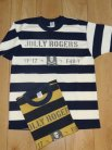 "【TOYS McCOY】 MILITARY BORDERED TEE SHIRT U.S.NAVY ""JOLLY ROGERS"""