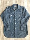【WORKERS】 MFG Shirt, Blue Chambray