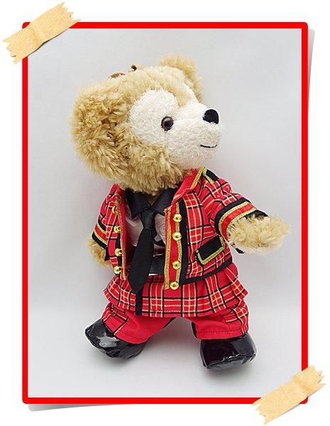 ダッフィー&ジェラトーニ 衣装 ポーチサイズ (身長28cm) carnival コスチューム hdn111