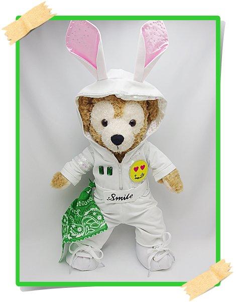 ダッフィー 衣装 Sサイズ (全長43cm) 変身シリーズ 2017年 ウサギ コスチューム oka