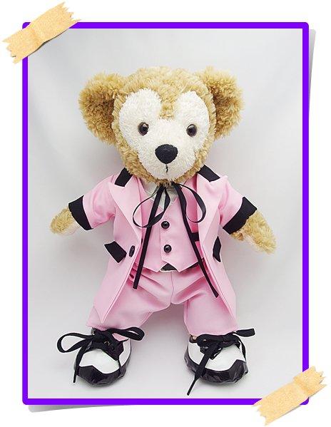 ダッフィー&シェリーメイ 衣装 Sサイズ (身長43cm) World コスチューム  sexy04