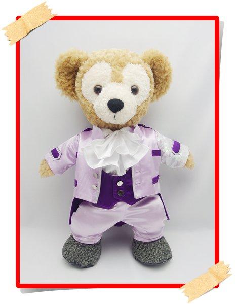 ダッフィー&シェリーメイ 衣装 Sサイズ (身長43cm) Prince 風コスチューム jr02