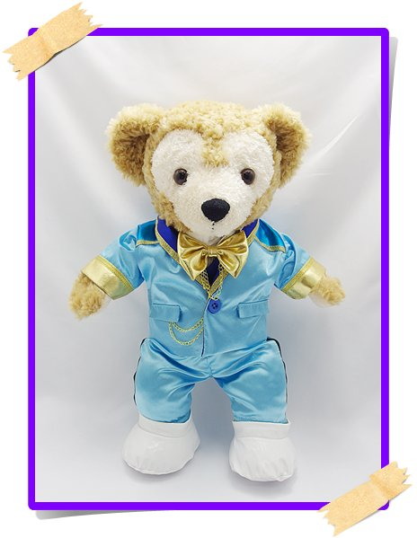 ダッフィー&シェリーメイ 衣装 Sサイズ (身長43cm) Prince 風コスチューム jr17