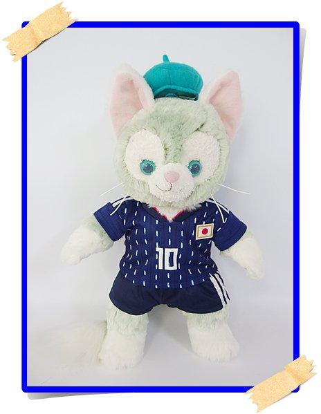 ジェラトーニ&ステラルーも着用OK!!衣装 Sサイズ (全長40cm) サッカー 日本代表 ユニフォーム  scj10 KAGAWA