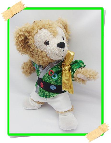 ダッフィー&ジェラトーニ 衣装 ポーチサイズ (身長28cm) 仕分け コスチューム 大 ∞60