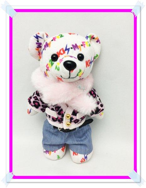 キスマイベア コスチューム 衣装 高クオリティ ピンク豹柄 服 K18 F