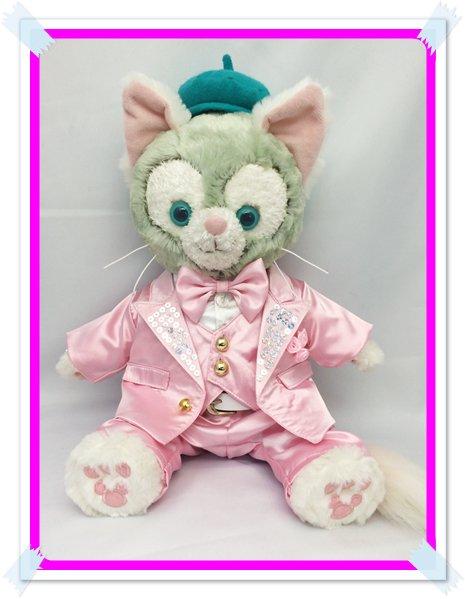 ジェラトーニ&ステラルーも着用OK!!衣装 Sサイズ (全長40cm) kiss ピンクスーツ コスチューム kjn14 F