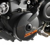 【690 LC4】 カーボンイグニッションカバープロテクター