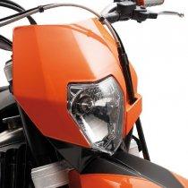 【690 LC4】 ヘッドライトマスク オレンジ