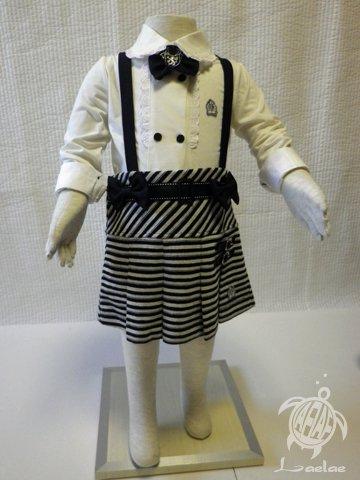 巻きスカート風プリーツ