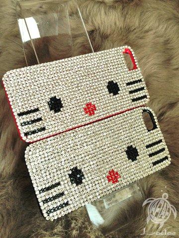 スマホケース「kitty」 iPhone5・5S