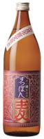 すっぽん麦 25度 900ML 麦焼酎(白金酒造)