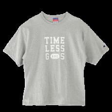 オリジナルTシャツ ユニセックスS・M/グレー×白字