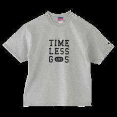 オリジナルTシャツ ユニセックスS・M/グレー×黒字