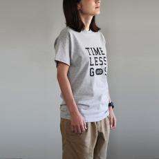 オリジナルTシャツ レディース[グレー×黒字]