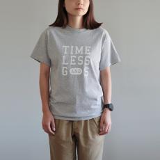 オリジナルTシャツ レディース[グレー×白字]