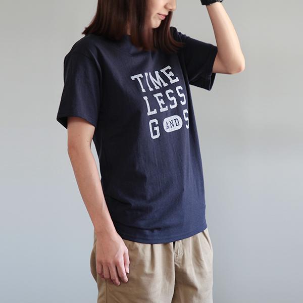 オリジナルTシャツ レディース/navy