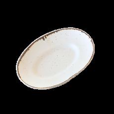 MY DISH Oval Plate 23cm [ブラウン]