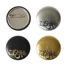 Leather badge B