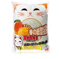 AKANE 小粒のマンゴー香り紙製猫砂7L