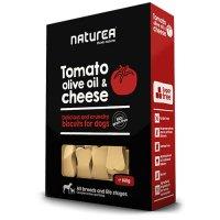 ナチュレア トマト&オリーブオイル&チーズ 140g/犬用ビスケット/グレインフリー