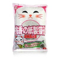 AKANE 小粒の桃香り紙製猫砂7L