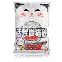 AKANE 活性炭入り紙製猫砂7L