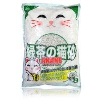 AKANE 緑茶入り紙製猫砂7L